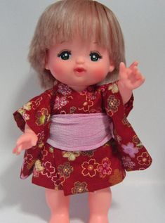 free patterns for dolls clothes (in Japanese)