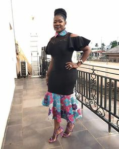 Best African Ankara Styles : 2018 Short Gowns, Long Gowns, Skirt and Blouse Ankara Styles - Zaineey's Blog FacebookTwitterGoogle+WhatsAppAddthis