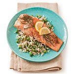 Roasted Salmon with Lemon and Dill Recipe | MyRecipes.com