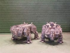 2 Rhino Dreads are better than one. - Warhammer 40k Forum Tau Online
