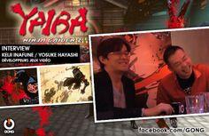 GONG [YAIBA Ninja Gaiden Z] Retrouvez l'interview exclusive de Keiji Inafune et Yosuke Hayashi, développeurs de ce nouveau projet !  www.gongnetworks.com