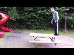 backflip goes wrong. That was almost perfect…