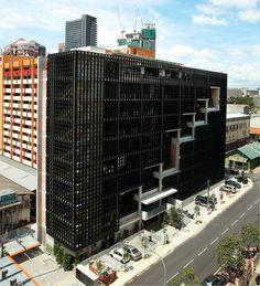 PAM Centre in Jalan Tandok cost million to build. (Photos by The Edge) Condominium, Willis Tower, Facade, Skyscraper, Centre, Buildings, Multi Story Building, Detail, Architecture