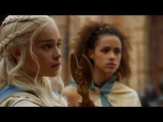 Game of thrones most bad ass scene ft. daenerys targaryen!! - YouTube