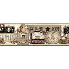 Found it at Wayfair.ca - Borders by Chesapeake Alfred Gathering Room Signs 15' x…