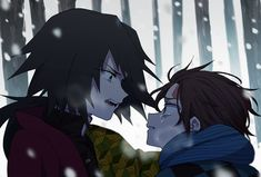 Imágenes random de Kimetsu no Yaiba - Tanjirou x Giyuu Manga Anime, Anime Demon, Demon Slayer, Slayer Anime, Northern Lights Norway, Cute Anime Character, Demon Hunter, Anime Artwork, Wattpad