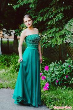 Платье для выпускного - Вязание - Страна Мам