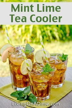– Tea and Coffee … 13 Homemade Flavored Tea Recipes – Cool Refreshing Iced Tea! – Tea and Coffee …,teerezepte 13 Homemade Flavored Tea. Sun Tea Recipes, Sweet Tea Recipes, Fruit Tea Recipes, Orange Recipes, Lime Tea, Mint Iced Tea, Homemade Iced Tea, Smoothie Drinks, Gastronomia