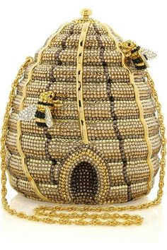 Now that's an intense handbag! Call A1 Bee Specialists in Bloomfield Hills, MI today at (248) 467-4849 to schedule an appointment if you've got a stinging insect problem around your house or place of business!