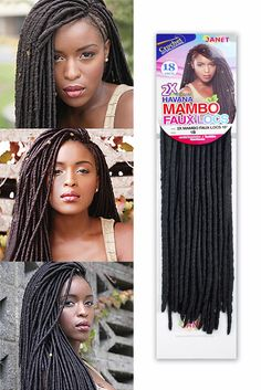 ... Mambo Faux Locs Braid , Crochet Braiding Hair - Janet, Tisun - 5