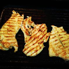 Master those stripes, I dare you! Is a pan not a grill but i hear people calling this grilled chicken still, o.O quite confusing for me lol
