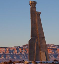 """""""The Gate Keepers""""  sculpture in Grand Junction, CO"""