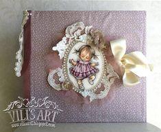 Baby Girl Album Girls Album, Scrapbook Albums, Scrapbooks, Frame, How To Make, Blog, Handmade, Decor, Art