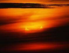The solar eclipse was partially seen at sunrise this morning from the coastal township of Gumaca, Quezon province, 187 kilometers southeast of Manila, Philippines.