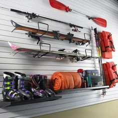 https://flic.kr/p/5Xg418 | Gladiator Idea Gallery: Outdoor Sports Organized | Make it easy to play outdoors. Visit the Gladiator Transformed My Garage Group to get other ideas.