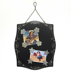 black Fancy Magnetic Collage Picture Frame