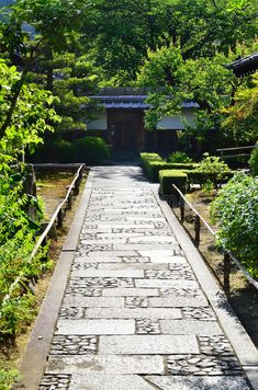 Stone Pavement Of Japanese Garden, Kyoto Japan. Stock Photo – Image of tenryuji, arashiyama:… Japanese Garden Landscape, Japanese Garden Design, Garden Landscape Design, Garden Paving, Bonsai Garden, Garden Paths, Bonsai Trees, Pavement Design, Stone Pavement