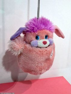 I still have my orange Popple! Gave it to my little one who tried to press the nose, eyes, anything to make it make noise! Oh how times have changed!