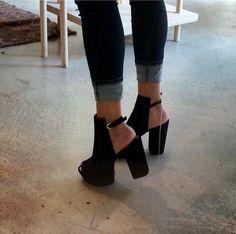 Where to buy platforms black open toe chunkey Boots - black open toe wedge booties, fringe open toe booties