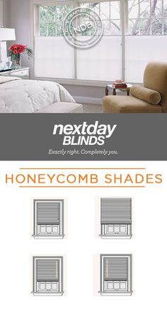 Energy efficient shades that provide diffused light and privacy. A white backing gives the shade a clean, consistent look from outside your house while reflecting incoming UV rays.