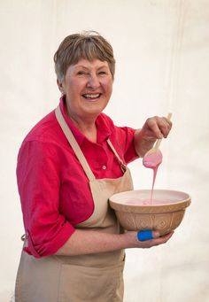 Val Stones' homely bakes could be a real hit with The Great British Bake Off judges