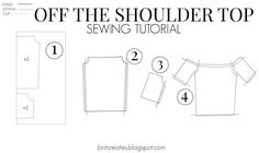 DIY Friday : Off The Shoulder Top