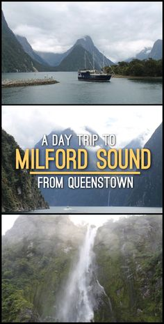 A day trip to Milford Sound to Queenstown, one of the best things you can do in New Zealand.