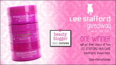 July 2015 Beauty Giveaway - Lee Stafford