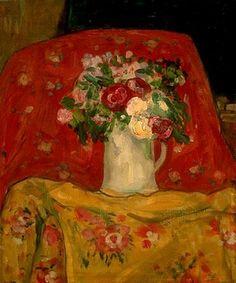 Fleurs ~ James Wilson Morrice (1865-1924)