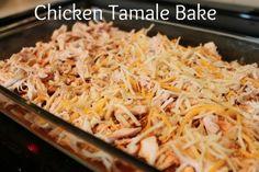 Weight Watchers Friendly Chicken Tamale Bake - 7 points plus