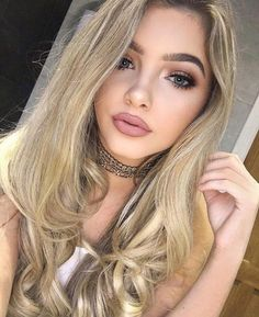 290 Images of Day Makeup Night Party Natural Blondes and Brunettes Day Makeup, Beauty Makeup, Makeup Looks, Hair Beauty, Makeup Eyes, Sophia Mitchell, Color Rubio, Looks Pinterest, Hair And Beauty