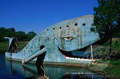 The Blue Whale on Route 66, Catoosa, Oklahoma