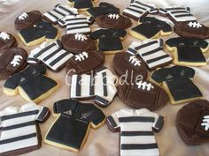 Cookies. NZ Jerseys, club jerseys and rugby balls.