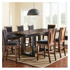 FREE SHIPPING! Shop Wayfair for Steve Silver Furniture Julian Counter Height Extendable Dining Table - Great Deals on all Furniture products with the best selection to choose from!