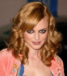 Dazzling womens Heather Graham Hairstyle 2014 Wallpaper