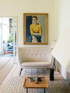 FINN JUHL'S HOUSE IN COPENHAGEN, DENMARK