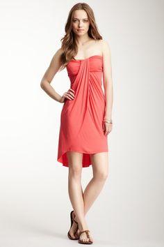 Arancia Strapless Draped Hi-Lo Dress on HauteLook