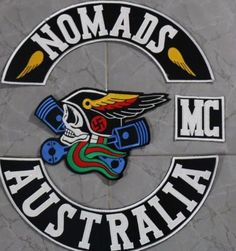 found on ebay Motorcycle Logo, Motorcycle Clubs, Biker Clubs, Biker Quotes, Sidecar, Motorbikes, Colours, Ebay, Rockers