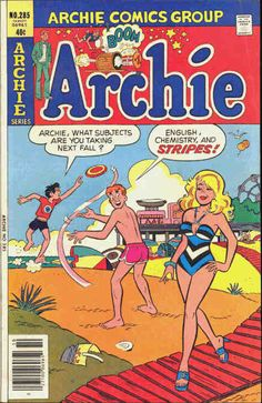 "Undoubtedly, I spent WAY more time reading the many ""Archie"" comic book titles than I ever did on my homework. Archie, Reggie, Jughead and Betty & Veronica were like my best friends. I had a large chest full of these comic books. My  mom threw them all away, but thanks to eBay, I can have stacks of them taking up space in my closets today, and I do. Take that, bitch."