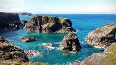 Minnows Islands near Porthcothan, Cornwall