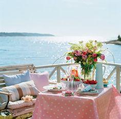 lovely breakfast at sea-side :)