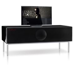 Geneva Sound System Model XXL / Home Theater Console in Black.