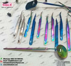 ■MANUFACTURER■ ••We are Specialized in Body Care Instruments ••#Eyelash_Tweezers•• The ultimate Choise of Beauty Professionals•✨ •Pick Our Tweezers For Perfect Lash Gripping•  • Place your order in my inbox   Customize Options : •#LASER_ENGRAVED_BRANDING •#CUSTOM_PATTERN_DESIGNING •#MULTIPLE_COLORS •#CUSTOM_PACKING  Contact us for Catalouge With #PRICE List Whatsapp: 0092 3338665257 Email: info@fatimabent.com www.fatimabent.com  #fatimabenterprises #lashes #lashesextension #lashtastic… Nail Cuticle, Gold Tips, Price List, Professional Hairstyles, Eyelash Extensions, Laser Engraving, Beauty Care, Body Care, Eyelashes