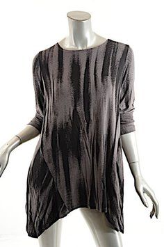 5d9c226e30b Alembika Asymmetric Tunic Sweater Tunic Sweater, Grey Sweater, Black And  Grey, Tunic Tops