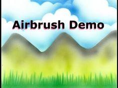 Master airbrush machine demonstration - Airbrush cake and cookie decorating - YouTube