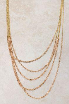 Rose Veil Necklace
