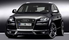 Audi SUV... Jimmy promised when I have children, I get an Audi. :p