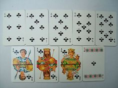 Vintage Russian Playing Cards