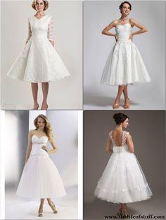 Wedding Journal - The Tea Length Wedding Dress