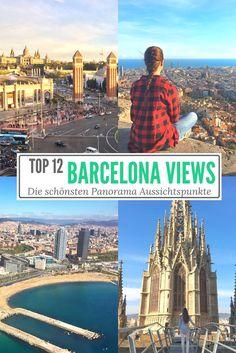Aussichtspunkte in Barcelona - 12 Panoramablicke auf #Barcelona #view